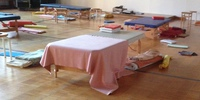 Feldenkrais training room empty